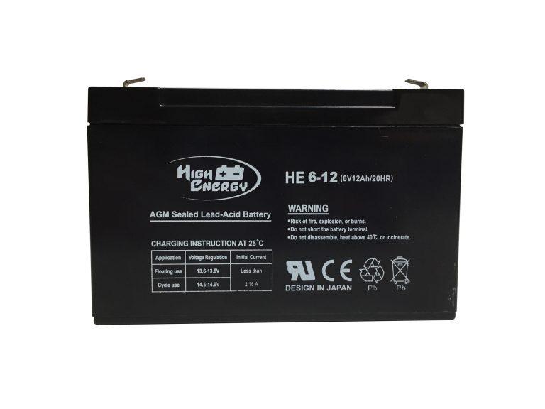 bateria 6v 12ah