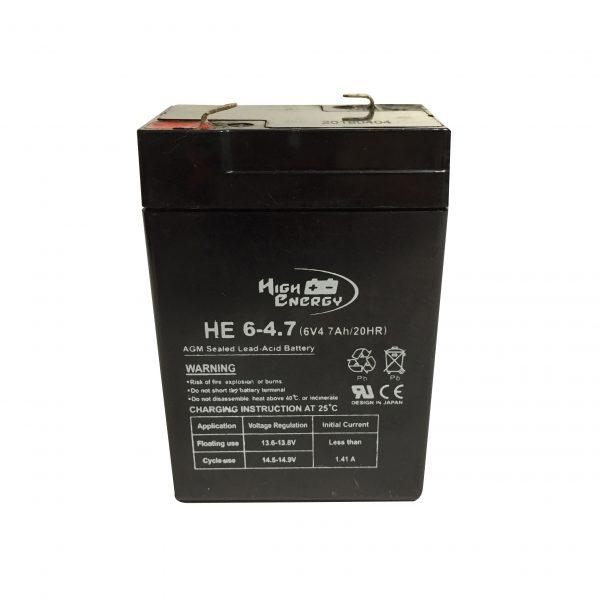 bateria 6v 4,7ah